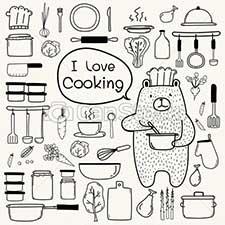 Kochausrüstung