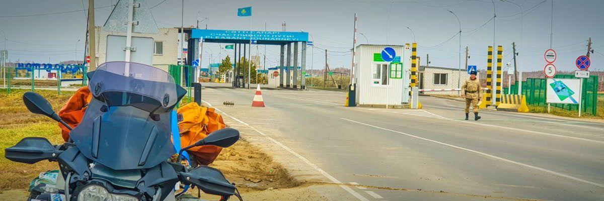 Steppenfuchs Reisen - Seidenstrassen Grenzübegang nach Usbekistan