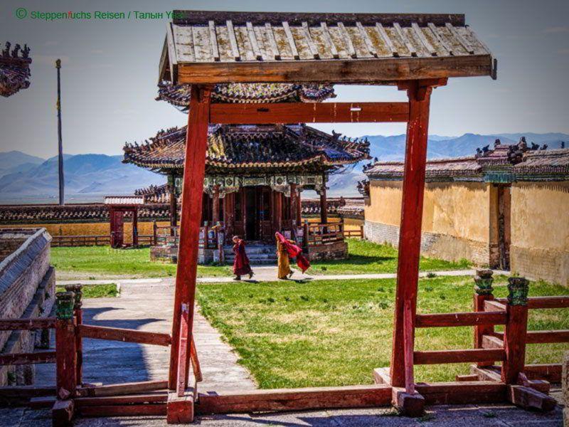 Steppenfuchs Reisen - Klostereingang Bogd Khan