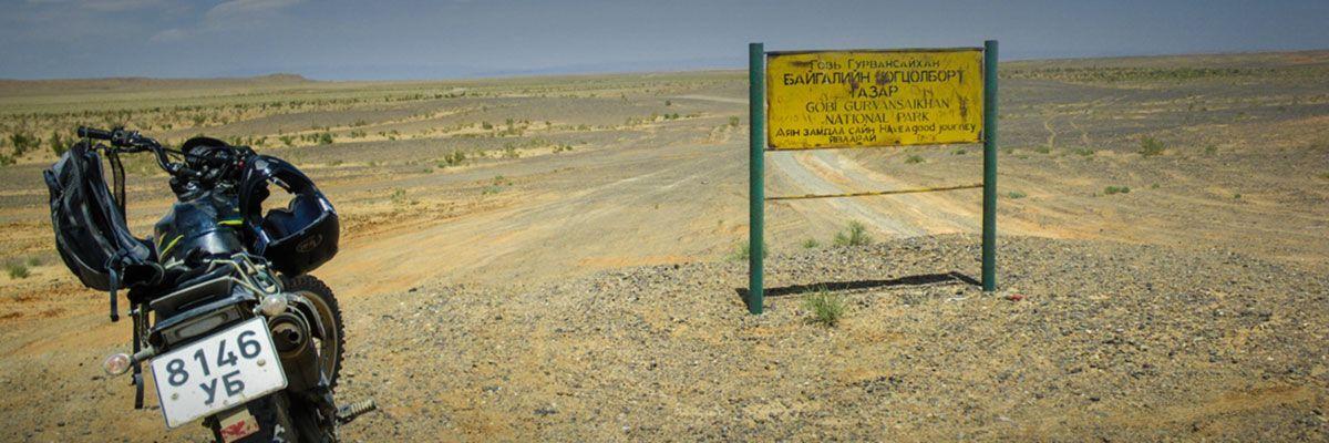Steppenfuchs Reisen - Endurotour in die Wüste Gobi