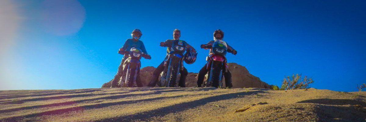 Steppenfuchs Reisen - Mit Motorrädern unterwegs in der Gobi