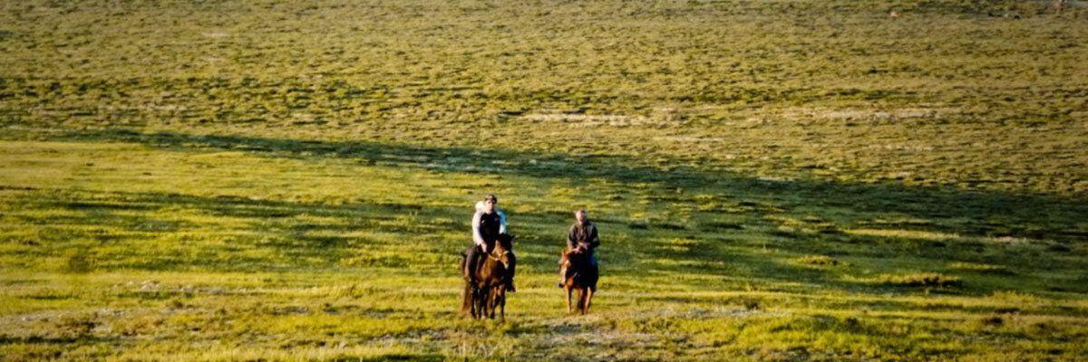 Wandern, Pferde und Nomaden