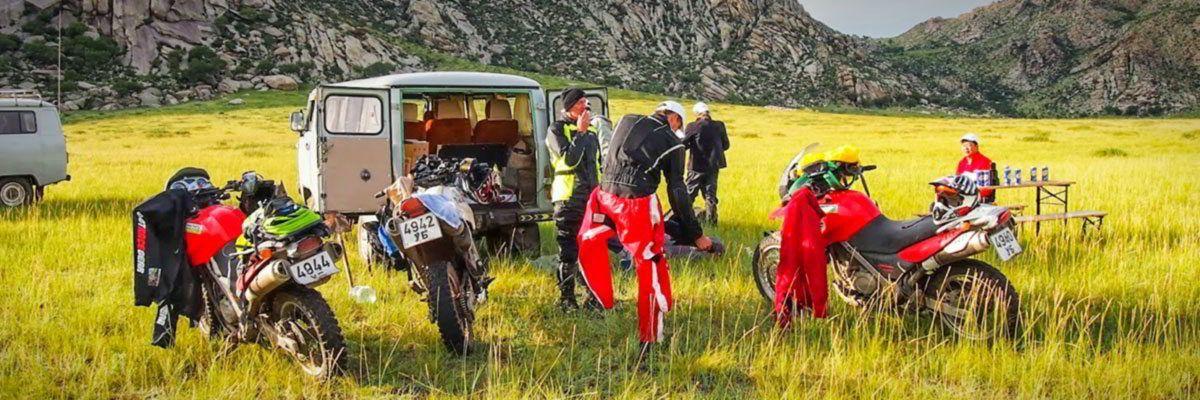Steppenfuchs Reisen - Startklar machen für die Motorradtour durch die Monagolei