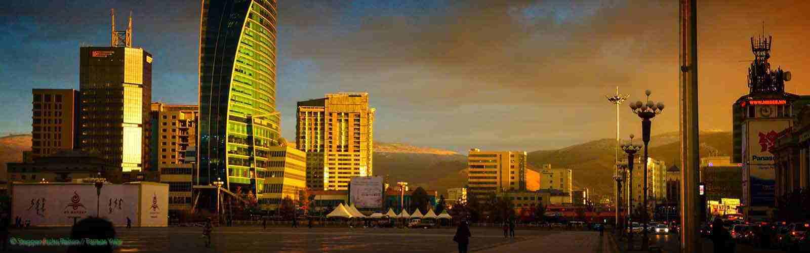 Steppenfuchs Reisen - Ulaanbaatar Lichtspiele der Sonne
