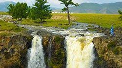 Orchon Wasserfälle