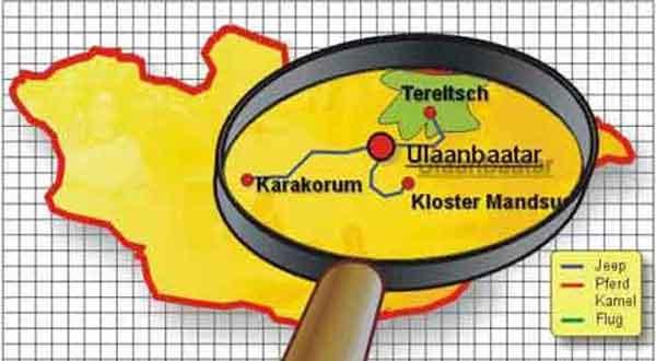Karte Tour 430