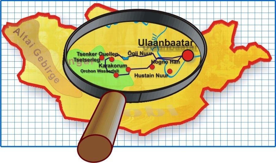 Karte Tour 416